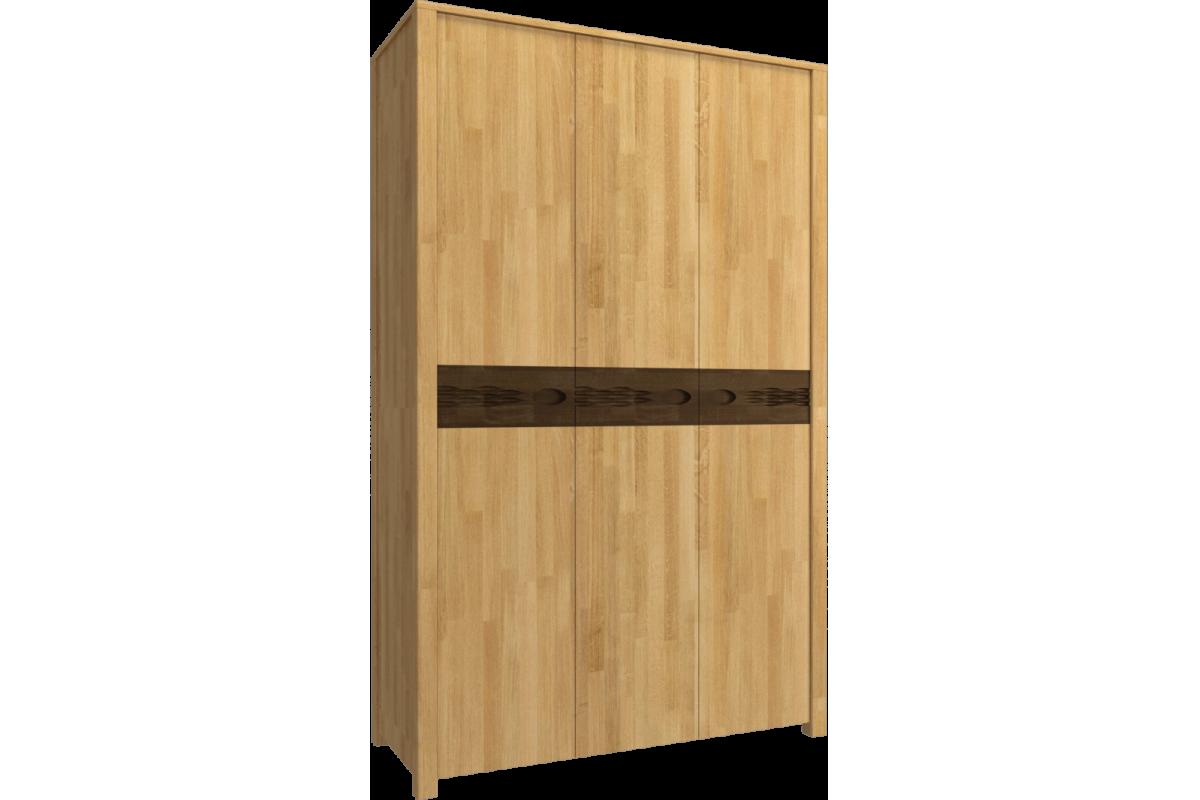 Шкаф трёхстворчатый для одежды Фьюжн