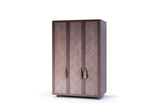 Шкаф трехстворчатый для одежды Милена