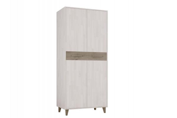 Шкаф двухстворчатый для одежды Софт