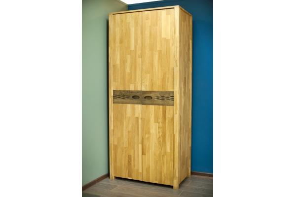 Шкаф двухстворчатый для одежды Фьюжн