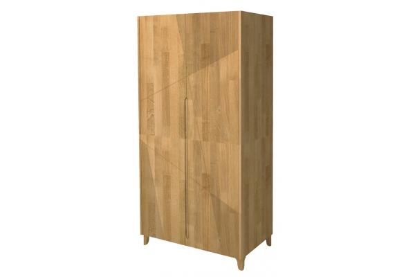 Шкаф двухстворчатый для одежды Линея
